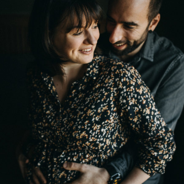 Camille & Laurent Séance grossesse en alsace du nord